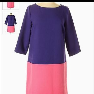 Very popular color block loft dress.